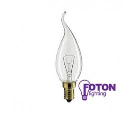 Лампа накаливания   DECOR С35 FLAME CL  40W 230V E14 FOTON