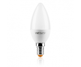 Светодиодная лампа 25SC 5.5Вт E14 WOLTA