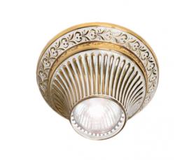 Светильник точечный FD1012SOP Gold White Patina Fede
