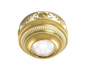 Светильник точечный FD15-LEOP GOLD WHITE PATINA Fede