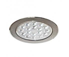 Светильник встраиваемый со светодиодами, 18 LED, 18 W, 230V, AL152