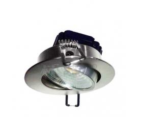 Светодиодный светильник FL-LED Consta B 7W Aluminium  2700K хром встраиваемый FOTON