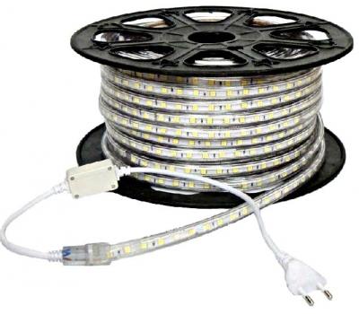 Лента светодиодная 220V-LT60-SWD3528-B синий, IP67, 120*, DC-220V, 4,8W/m, (S237) 60led/m 11*7mm, 100m / 1m Foton Lighting