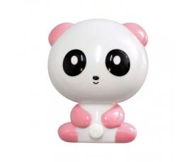 """Ночник """"панда"""" 4LED 1W 230V розовый , FN1166 Feron"""