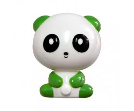 """Ночник """"панда"""" 4LED 1W 230V зеленый , FN1166 Feron"""