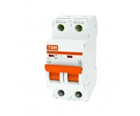 Автоматические выключатели ВА47-29 (характ. С) 10А 2П ТДМ