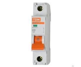 Автоматические выключатели ВА47-29 (характ. С) 20А 1П ТДМ