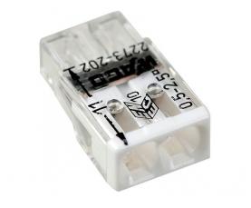 2273-202 Электромонтажные экспресс-клеммы 2*2.5мм2 100шт WAGO