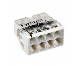 2273-248 Электромонтажные экспресс-клеммы 8*2.5мм2 с пастой 50шт WAGO