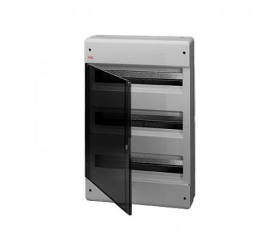 Бокс настенный 54М прозр.дверь серый 12477 EUROPA M124770020 ОУ