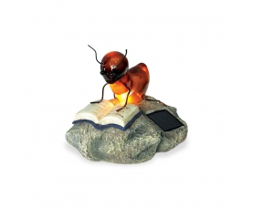 Светильник садовый WOLTA GARDEN CLEVER ANT, 14 см, полирезина, (CLEVER ANT)