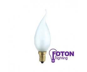 Лампа накаливания DECOR С35 FLAME FR  40W 230V E14 FOTON