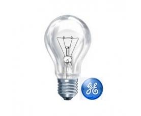 Лампа накаливания А1 40W CL 230V E27 GE