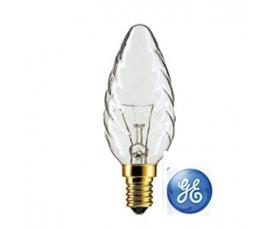 Лампа накаливания TC1 25W CL 230V E14 GE