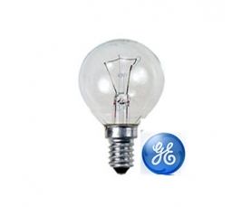 Лампа накаливания D1 40W CL  230V E14 GE