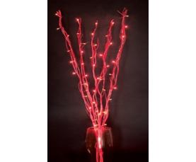 Ветки красные 50 красных LED 230V LD206B Feron