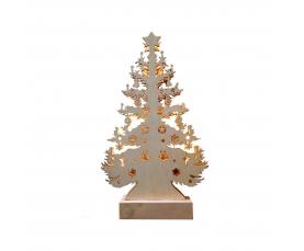Деревянная световая фигура 10LED 2700К LT087 Feron