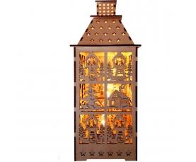Деревянная световая фигура 5LED 2700К LT091 Feron