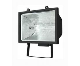 Прожектор галогенный FL-H 1000 IP54 черный FOTON