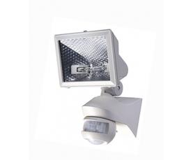 Прожектор галогенный  с датчиком FL-H150S белый FOTON