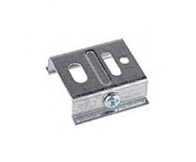 Скоба крепления к шинопроводу SKB-10-1 серебро NORDIC ALUMINIUM