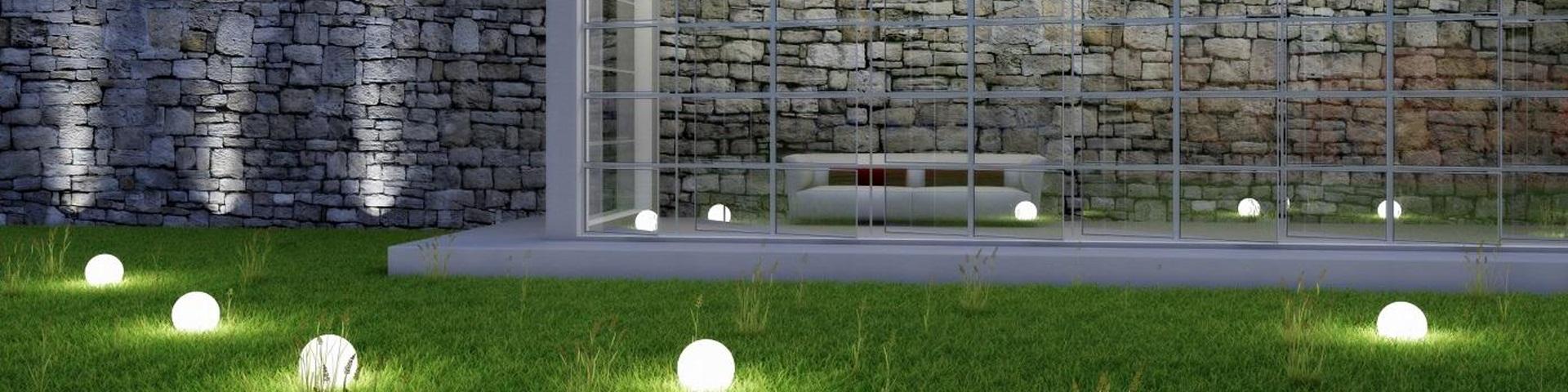 Проектирование и монтаж ландшафтного освещения
