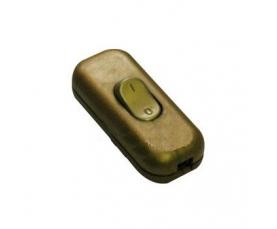 Выключатель проходной золотой 018459 Artidi