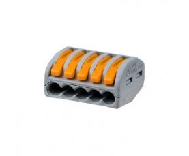 Электромонтажная клемма  СК-415 с рычажком 5х4мм ТДМ