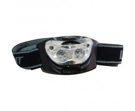 Фонарь аккумуляторный головной 0.3W 3LED черный TH2253 Feron