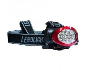 Фонарь аккумуляторный головной 1W 10LED красно-черный TH2250 Feron