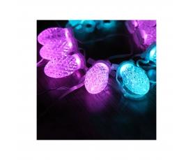 Гирлянда 220V 10 RGB LED CL56 Feron
