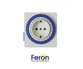 Розетка с таймером TM32 16A 220-240V суточная FERON