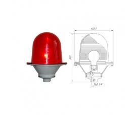 Заградительный огонь низкой интенсивности ЗОМ-75Вт >10cd тип А