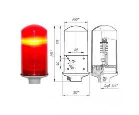 Заградительный огонь низкой интенсивности СДЗО-05-1 >10cd тип А