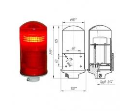 Заградительный огонь низкой интенсивности СДЗО-05-2 >32cd тип Б