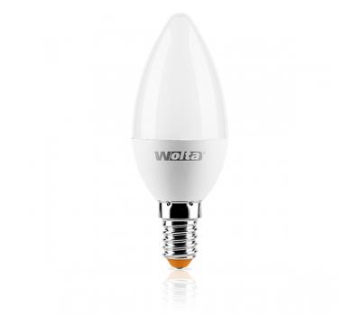 Светодиодная лампа C 4Вт Е14 3000К WOLTA