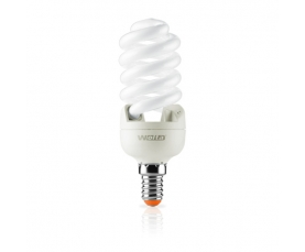 Лампа энергосберегающая Spiral (F) 15W 2700К Е14 WOLTA