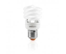 Лампа энергосберегающая Spiral (F) 12W 2700К Е27 WOLTA