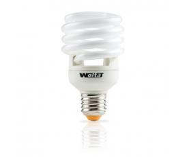 Лампа энергосберегающая Spiral (F) 23W 2700К Е27 WOLTA
