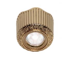 Светильник точечный FD1017SOB Bright Gold Fede