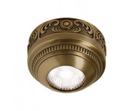 Светильник точечный FD15-LEPB BRIGHT PATINA Fede