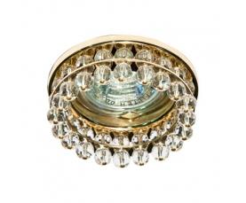 Светильник потолочный, MR16 G5.3 с прозрачным стеклом, золото CD2130 FERON