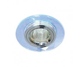 Светильник потолочный, MR16 G5.3 7мультиколор + серебро, 8050-2 FERON