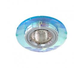 Светильник потолочный, MR16 G5.3 5 мультиколор + серебро, 8050-2 FERON