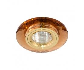Светильник потолочный, MR16 G5.3  коричневый + золото, 8050-2 FERON