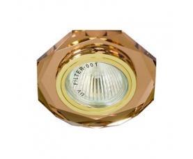 Светильник потолочный, MR16 G5.3 коричневый, золото, 8020-2 FERON