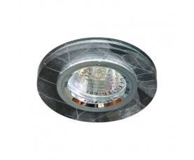 Светильник потолочный, MR16 G5.3 черный -белый,серебро, 8045-2 FERON