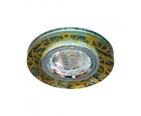 Светильник потолочный, MR16 G5.3 золото,серебро, 8047-2 FERON