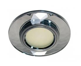 Светильник встраиваемый 12*3014 SMD MR16 12V 50W G5.3, серебро, серебро, 8050-2 FERON