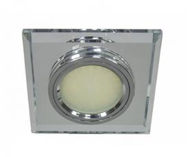 Светильник встраиваемый 12*3014 SMD MR16 12V 50W G5.3, серебро, серебро, 8170-2 FERON